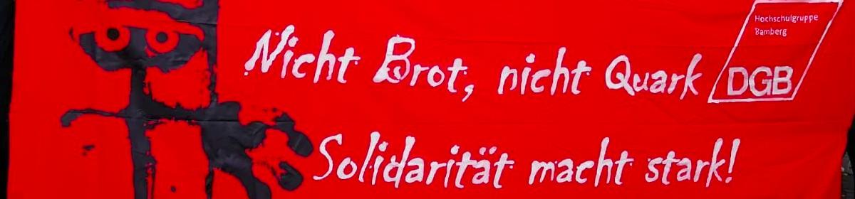 Blog der DGB-Hochschulgruppe Bamberg