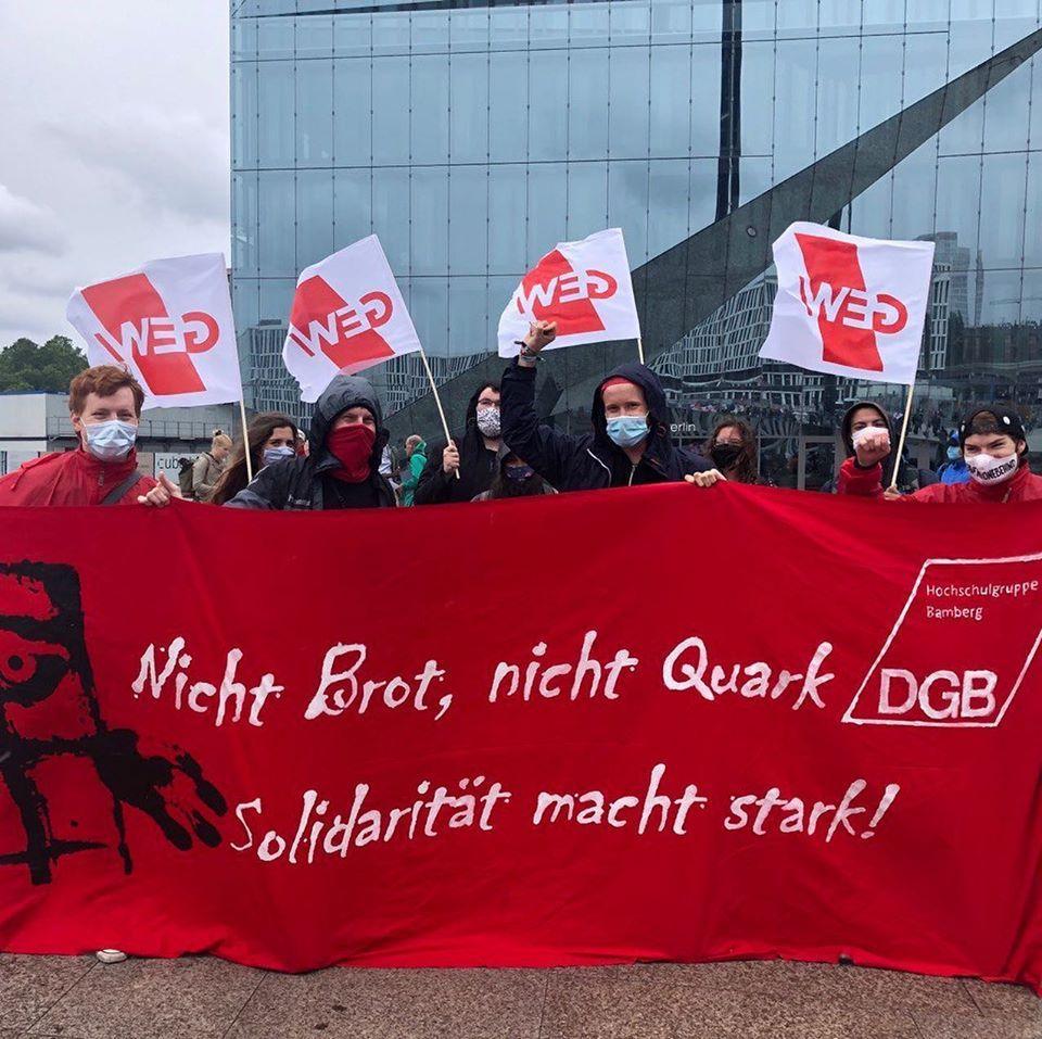 DGB-HSG zeigt in Berlin Präsenz